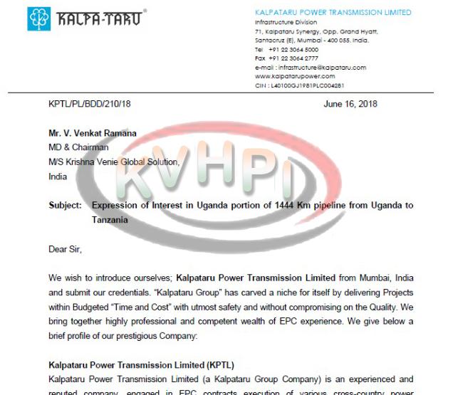 K Venie Hydrocarbons, Power & Infra Pvt  Ltd :: Hydrocarbons Onshore